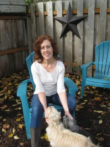Portland massage therapist Michelle Hebert
