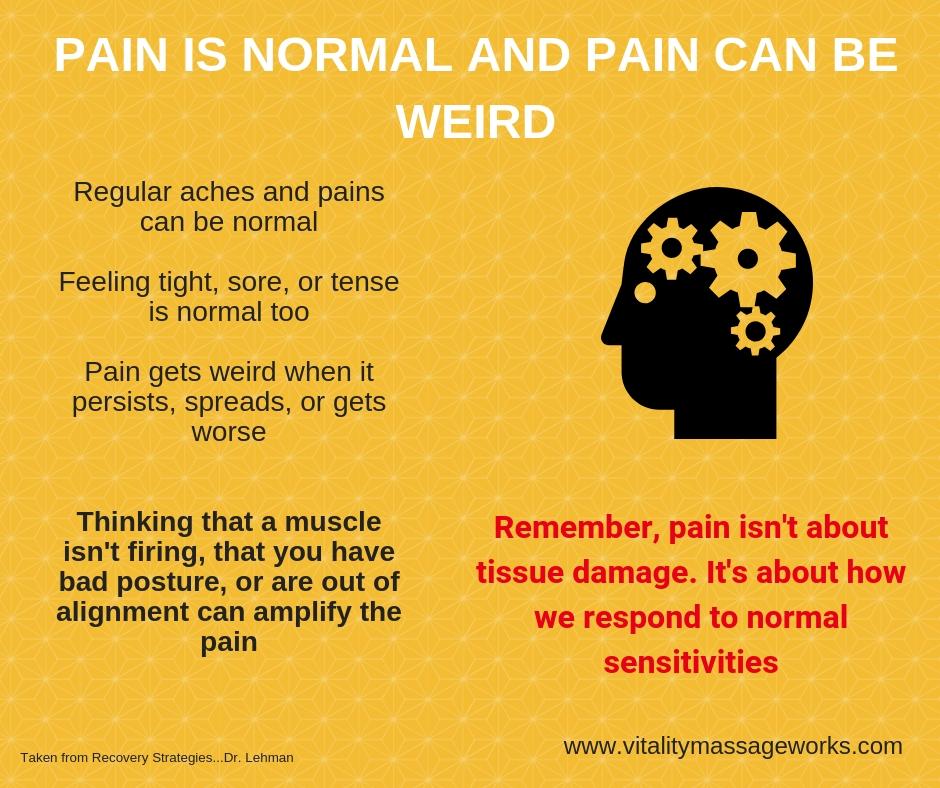 weird pain